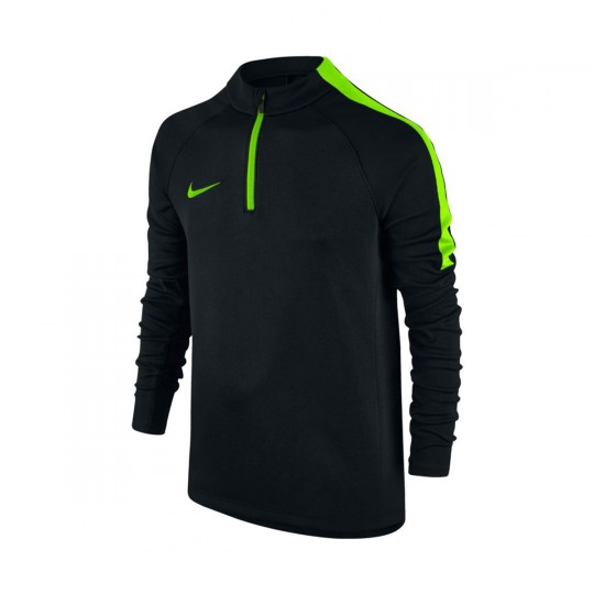 Maillot  Nike jr Squad Football Dril Black-Electric green