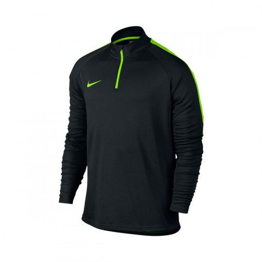 Maillot  Nike Dry Academy Football Dril Black-Electric green