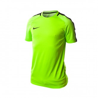 Camiseta  Nike Dry Squad Football Electric green-Black