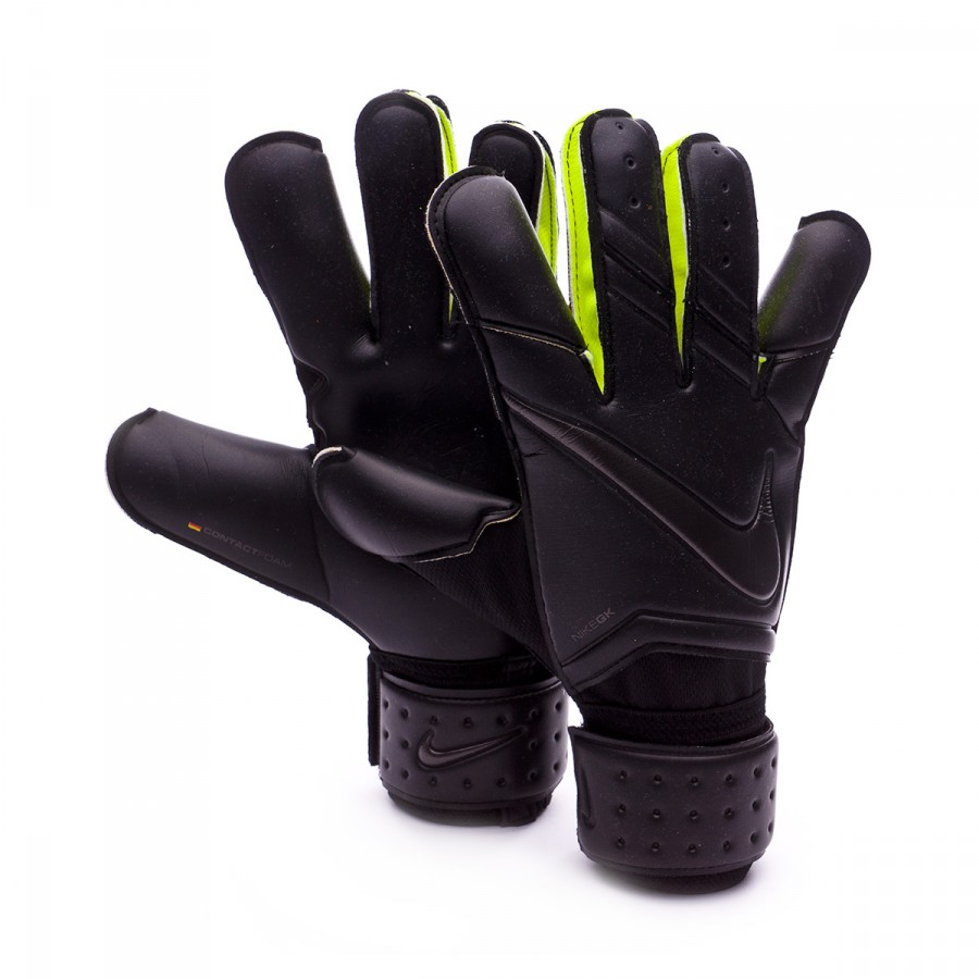 Black nike goalkeeper gloves - Glove Nike Vapor Grip 3 Black