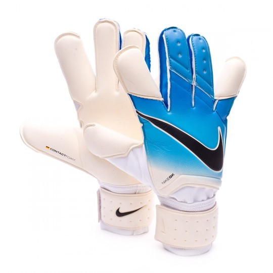 Luvas  Nike Vapor Grip 3 White-Photo blue-Chlorine blue-Black