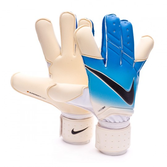 Luvas  Nike Grip 3 White-Photo blue-Chlorine blue-Black