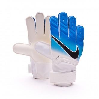 Luvas  Nike Jr Match White-Photo blue-Chlorine blue-Black