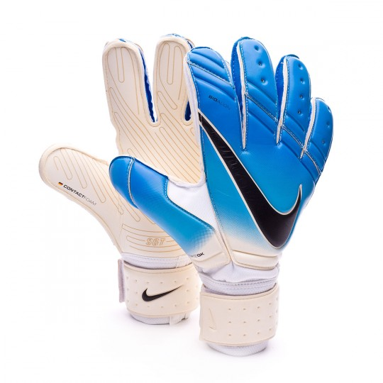 Luvas  Nike Premier SGT White-Photo blue-Chlorine blue-Black