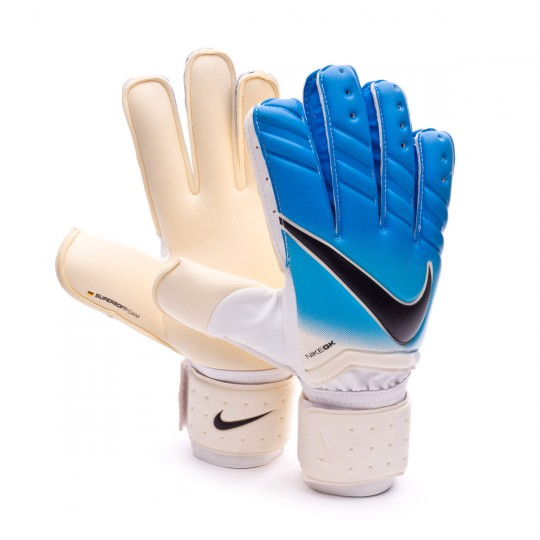 Guanti  Nike Spyne Pro White-Photo blue-Chlorine blue-Black