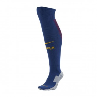Meias  Nike FC Barcelona Stadium Over-the-calf Principal 2017-2018 Deep royal blue-University gold