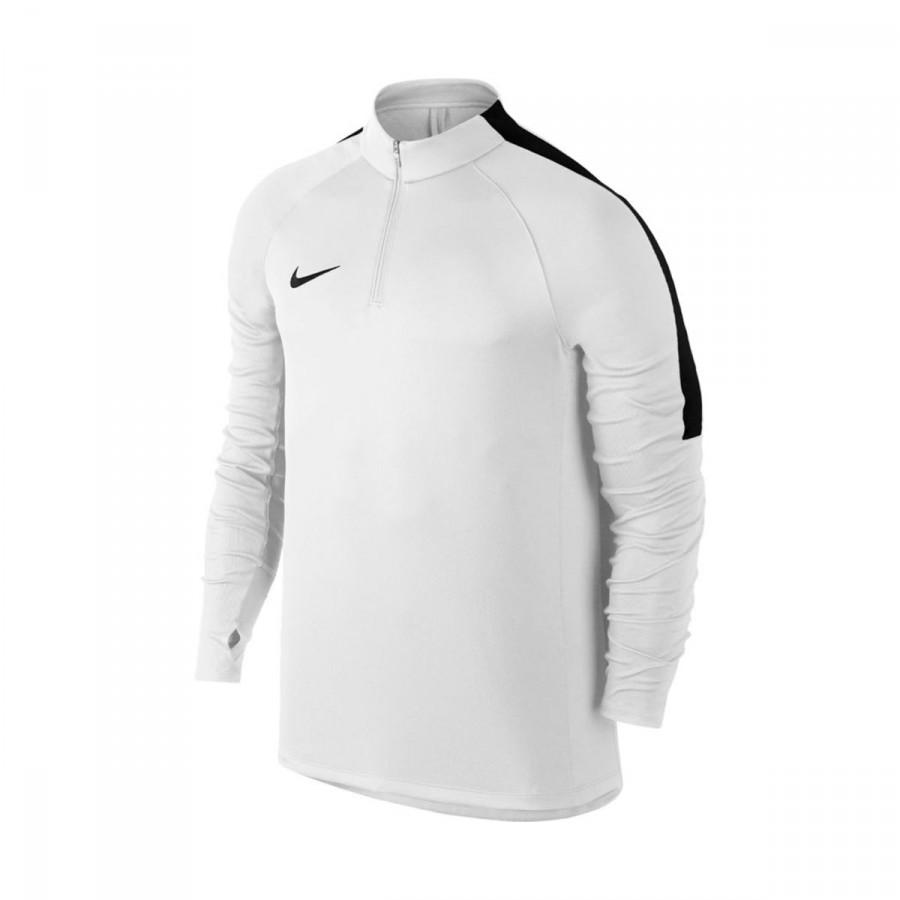 91128089bfc0 Sweatshirt Nike Squad Football Drill Top White-Black - Football ...