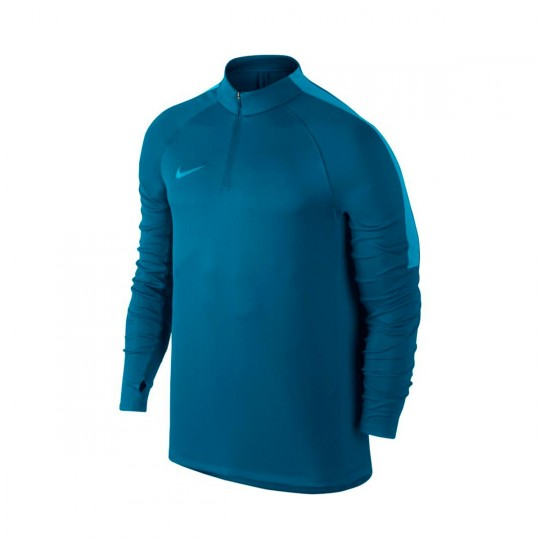 Camisola  Nike Squad Football Drill Top Industrial blue-Chlorine blue