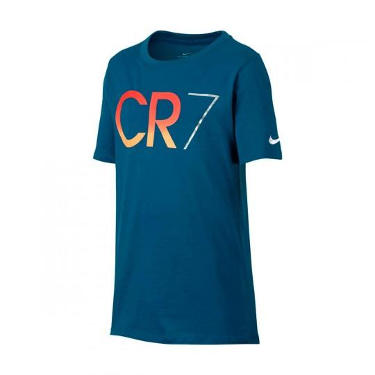 Camiseta  Nike jr CR7 Industrial blue