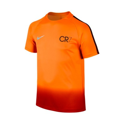 best service cca8b 057d7 Camiseta CR7 Squad Football Niño Tart-Metallic silver