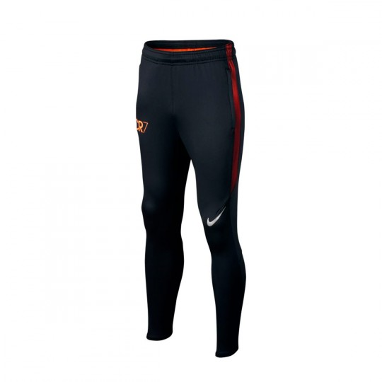 Pantalon  Nike jr CR7 Squad Football Black-Track red-Metallic silver