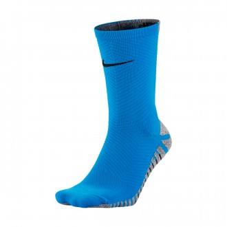 Meias  Nike Grip Strike Light Crew Photo blue-Black