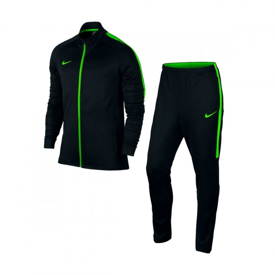 Chándal  Nike Dry Academy Black-Electric green