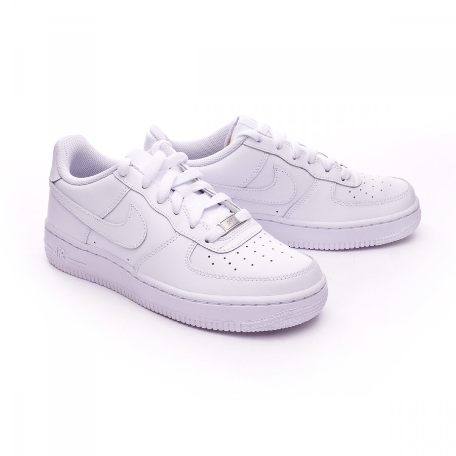 f5ca9e97f70 Trainers Nike Kids Air Force 1 (GS) White - Tienda de fútbol Fútbol ...