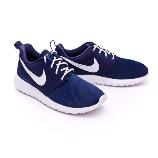 Zapatilla  Nike jr Roshe One (GS) Midnight navy-White
