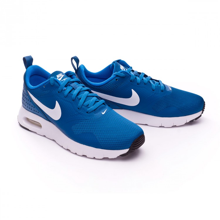 Trainers Nike Jr Air Max Tavas (GS) Industrial blue-White-Photo blue ... 5439e2fa94211