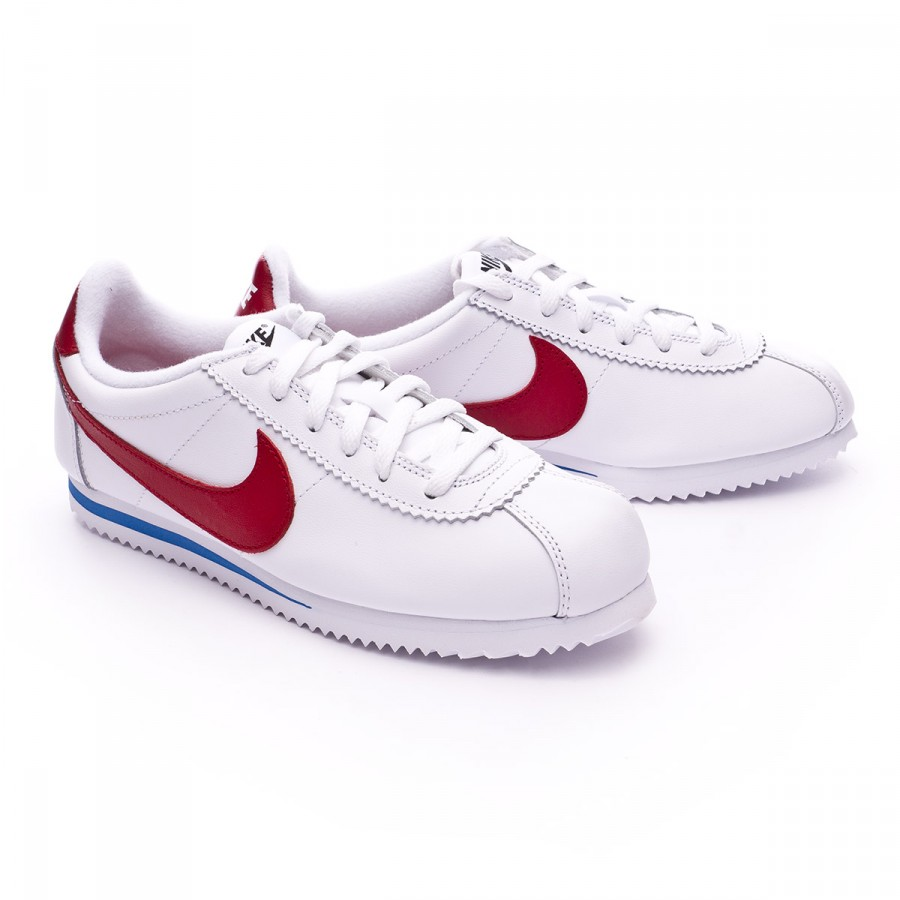 5518ab9fb Zapatilla Nike Cortez Premium (GS) Niño White-Varsity red-Varsity  royal-Black - Tienda de fútbol Fútbol Emotion