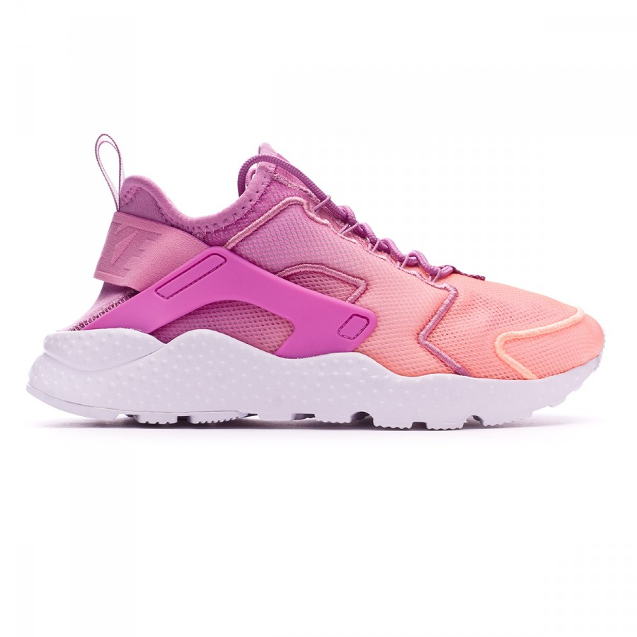 d329e2449ee Trainers Nike Air Huarache Run Ultra BR Mujer Orchid-Sunset glow-White -  Football store Fútbol Emotion