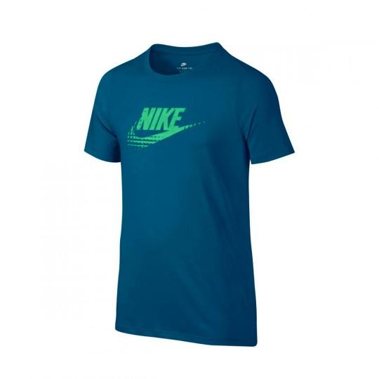 Camiseta  Nike jr Sportwear Advance 15 Industrial blue-Tourmaline