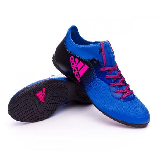 Zapatilla de fútbol sala  adidas X Tango 16.3 IN Blue-Core black