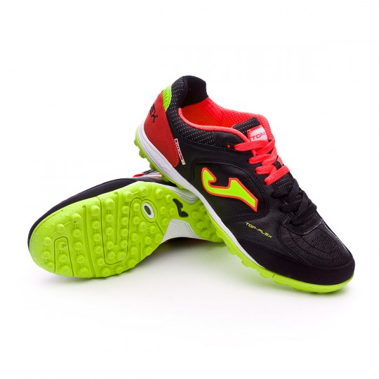 Zapatilla de fútbol sala  Joma Top Flex Turf Black-Red