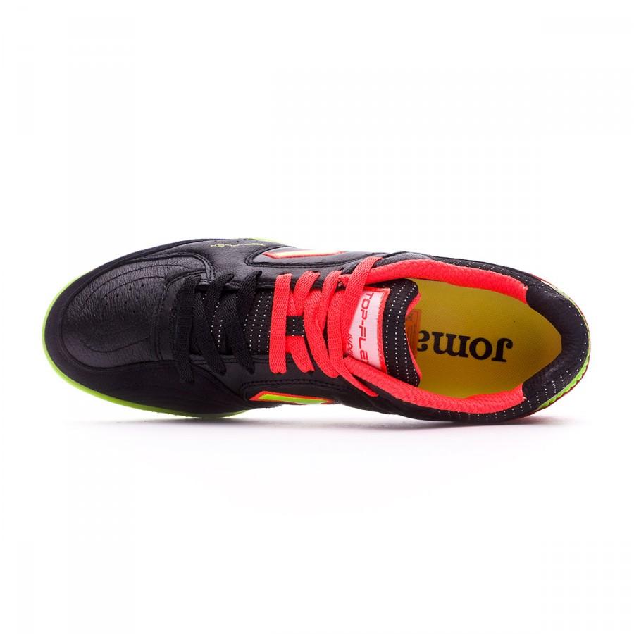ec11013199a50 Zapatilla Joma Top Flex Turf Black-Red - Tienda de fútbol Fútbol Emotion