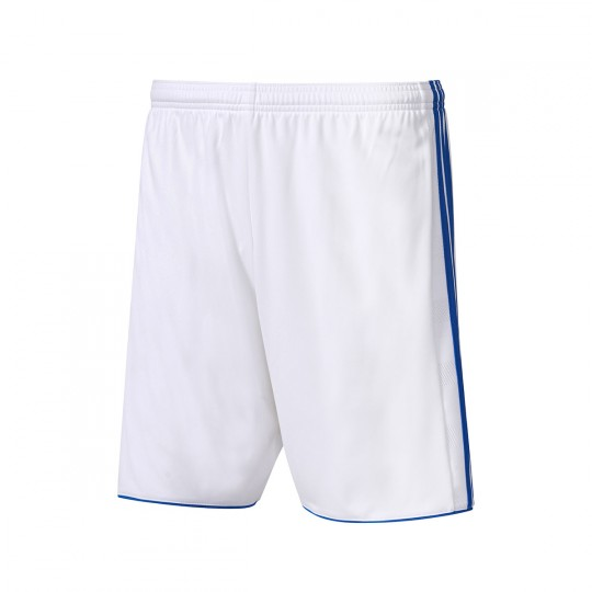 Pantalón corto  adidas Tastigo 17 Blanco-Azul royal