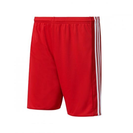 Pantalón corto  adidas Tastigo 17 Rojo-Blanco