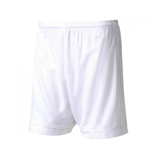 Pantalón corto  adidas Squadra 17 Blanco-Blanco