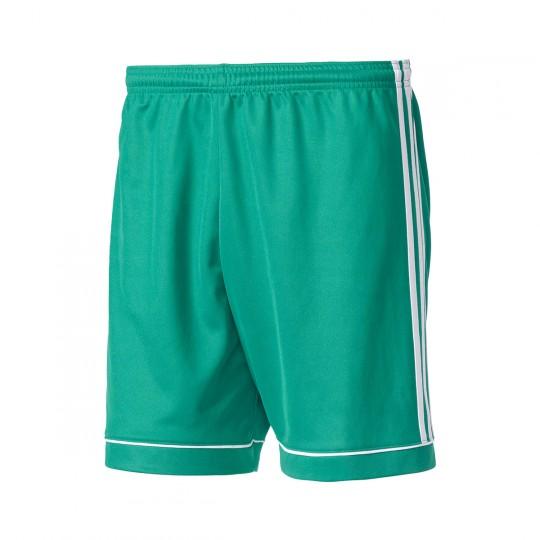 Pantalón corto  adidas Squadra 17 Verde-Blanco