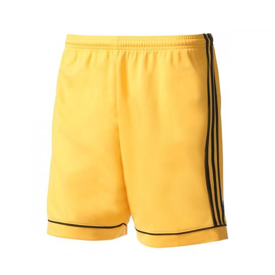 Pantalón corto  adidas Squadra 17 Amarillo-Negro