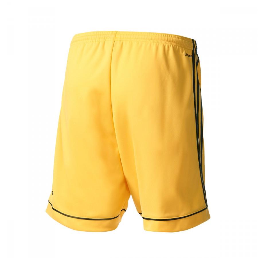 Amarillo 17 Pantalón Negro Corto Squadra WDE2e9IYbH