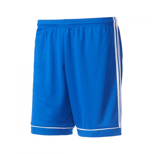 Pantalón corto  adidas Squadra 17 Azul royal-Blanco