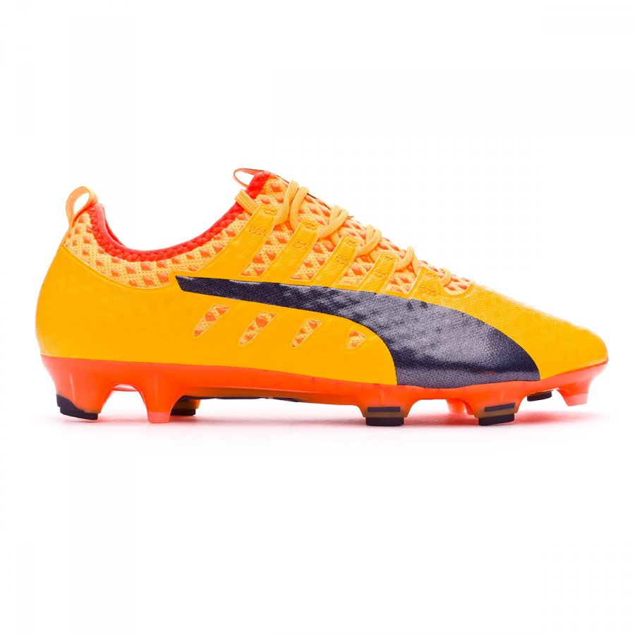 Zapatos de fútbol Puma evoPOWER Vigor 1 FG Ultra yellow-Peacoat-Orange  clown fish - Soloporteros es ahora Fútbol Emotion f0533e8df6234