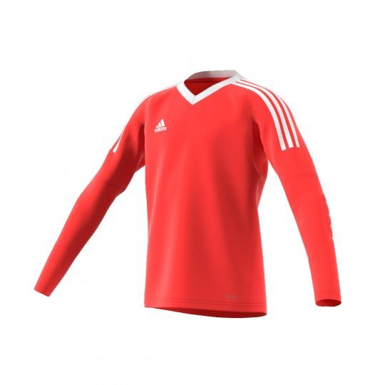 Camisola  adidas Revigo 17 GK Vermelho-Branco