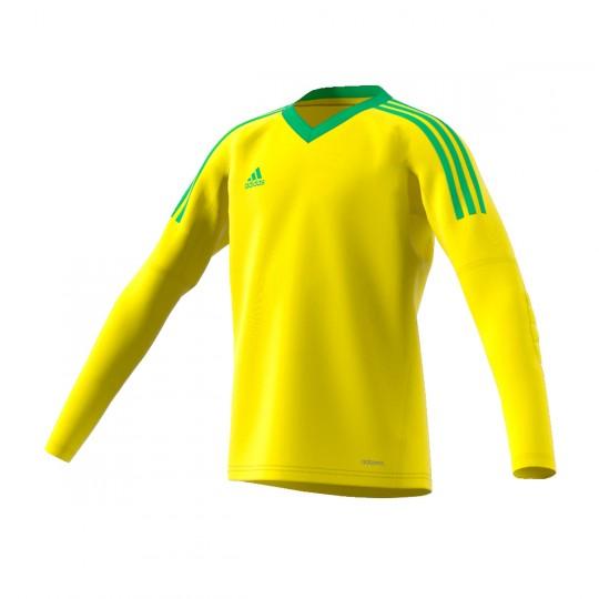 Camisola  adidas Revigo 17 GK Amarelo-Verde