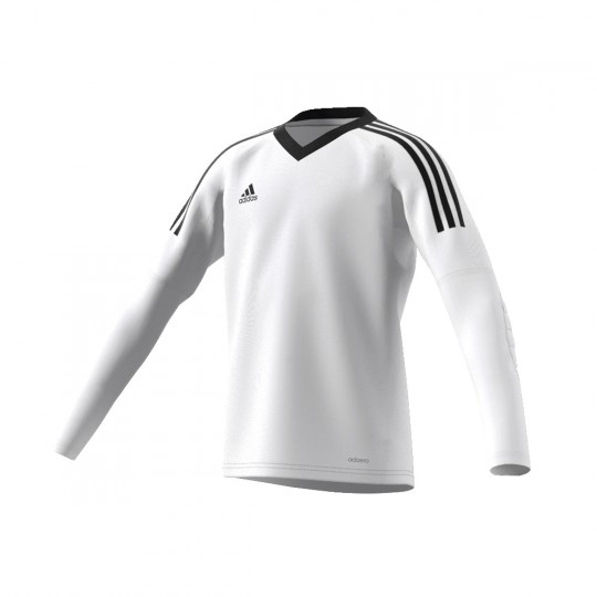 Camiseta  adidas jr Revigo 17 GK Blanco-Negro