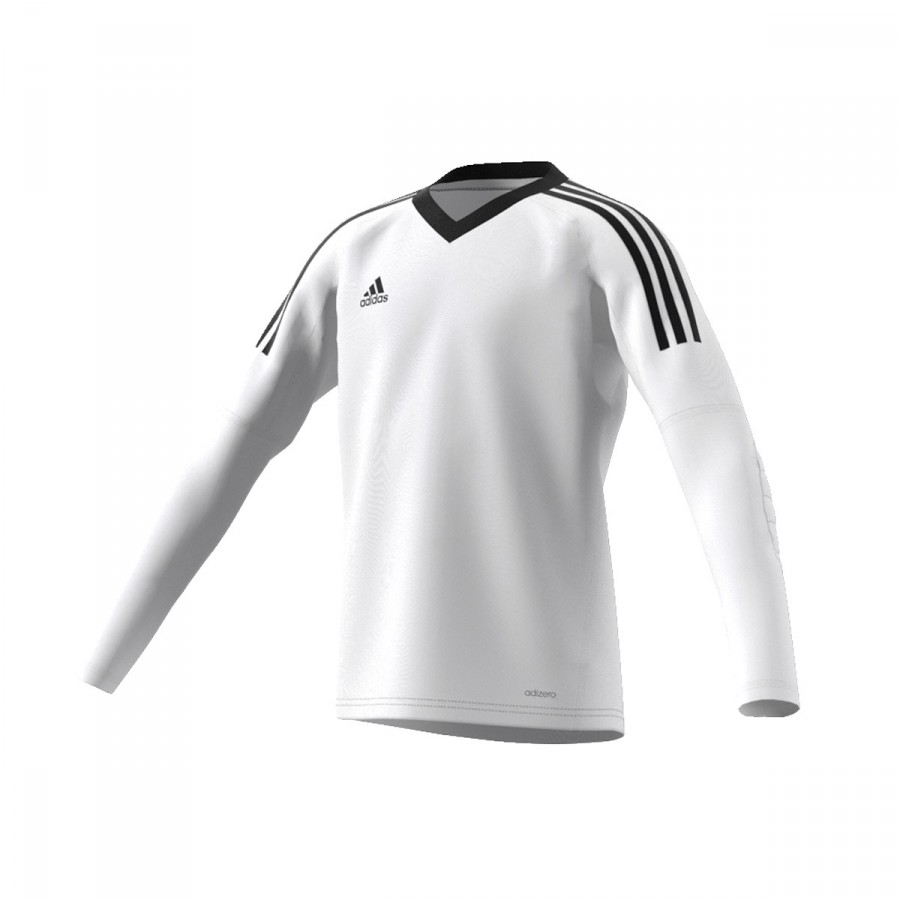 Camiseta adidas Revigo 17 GK Niño Blanco-Negro - Soloporteros es ahora  Fútbol Emotion 8ae368e788ebd