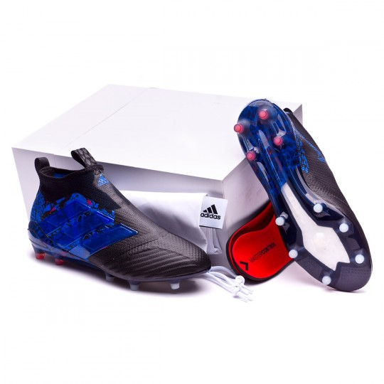 Chaussure  adidas Ace 17+ Purecontrol UCL Dragon FG Black-Blue