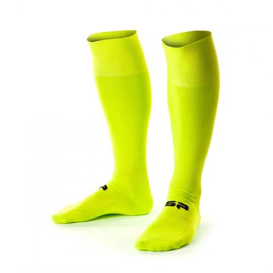 Chaussettes   SP Jugadores Amarillo Flúor