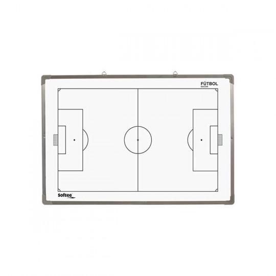 Jim Sports Terrain de foot magnétique (60 x 90 cm) Blanc