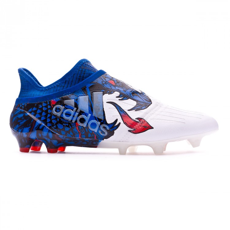 1c01bfb44698 Football Boots adidas X 16+ Purechaos UCL Dragon FG White-Red-Blue ...