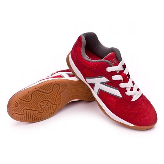 Chaussure de futsal  Kelme Indoor Copa Rouge