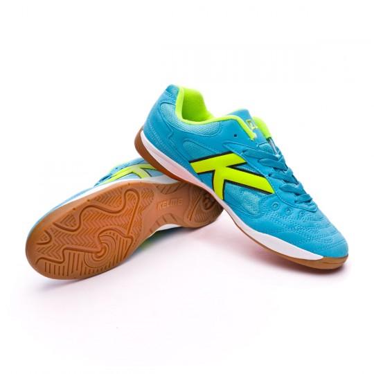 Chaussure de futsal  Kelme Indoor Copa Turquoise