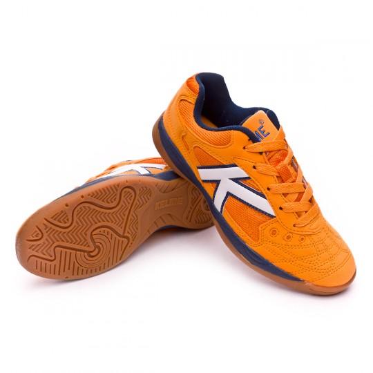 Chaussure de futsal  Kelme Indoor Copa Orange
