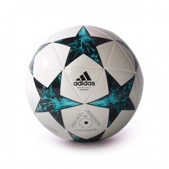 Bola de Futebol  adidas Finale 17 Capitano White-Black-Deep blue sea