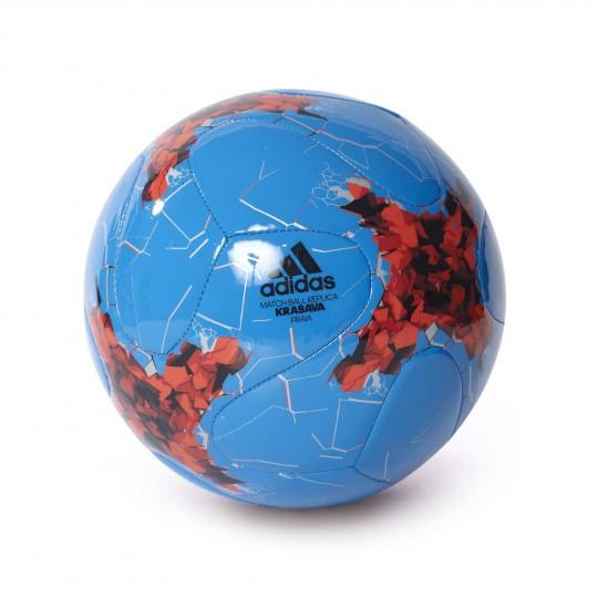 Balón  adidas Confed Praia Blue-Bright red-Black