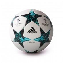 f7a18d92dcdb1 Bola de Futebol adidas Finale 17 TT White-Core black-Dark green ...