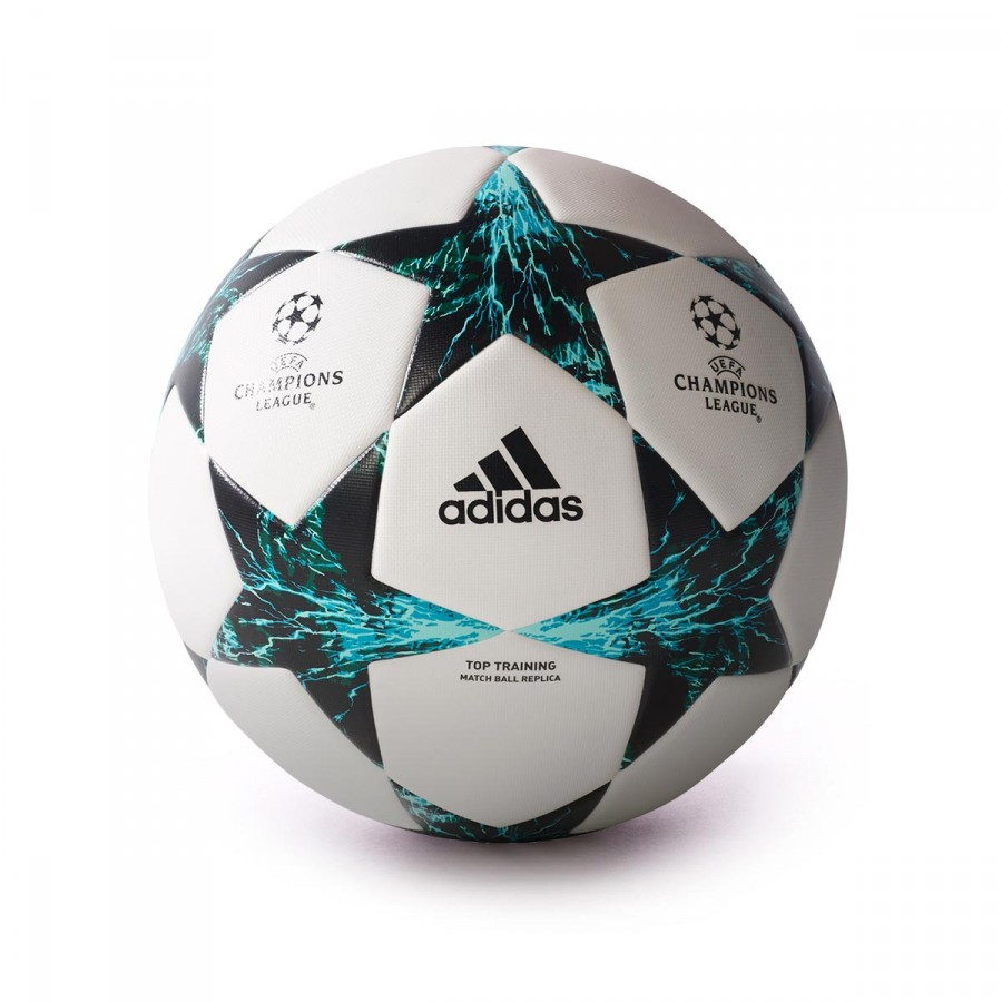 e76f1be741faf adidas Finale 17 TT Ball. White-Core black-Dark green-Energy blue ...