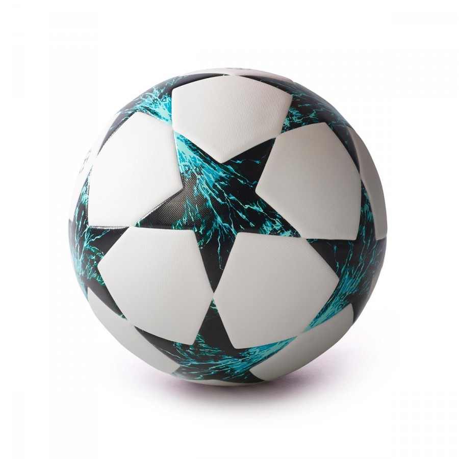 8562f8e5b70d8 Bola de Futebol adidas Finale 17 TT White-Core black-Dark green-Energy blue  - Loja de futebol Fútbol Emotion
